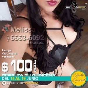 Melissa 6663-6092 *VIP* - oferta-especial, vip, colombianas