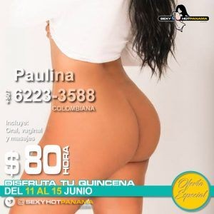 Paulina 6223-3588 *VIP* - oferta-especial, vip, colombianas