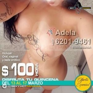 Adela 6201-9461 *VIP* - oferta-especial, vip, colombianas